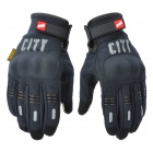 MADBIKE ST07 Motorcycle Bicycle Cycling Gloves for Touch Screen - Black (Size L / Pair)