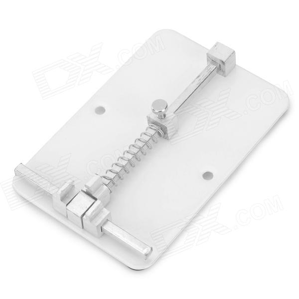 BAIKU BK-687 Stainless Steel Repairing PCB Holder for Cellphone - Silver janet norton on the other side the fall