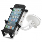 Multi-Function 360 Degree Rotational Car Mount Stand for Cell Phone - White + Black