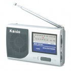 Kaide 221 AM & FM Digital Radio - Deep Grey + Silver White