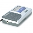 Kaide 221 AM & FM Radio - Deep Grey + Silver White