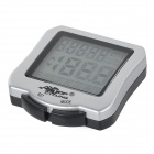 TOPCYCLING TOP-MB1 30 Functions Bicycle Computer Odometer Speedometer - Silver