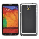 Protective TPU + PVC Bumper Case w/ Screen Protector for Samsung Galaxy Note 3 N9000 - White