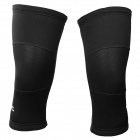 TOPCYCLING SAK1088 Outdoor Bicycle Thickened Knee Leg Warmers - Black (Size XL / Pair)