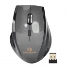 2,4 GHz Wireless USB 2.0 1600dpi LED Gaming Mouse - Schwarz (2 x AAA)