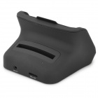 01 Portable 2-in-1 Cell Phone / Battery Charging Cradle Dock for Samsung Galaxy Note 3 - Black