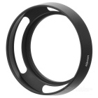 49mm Aluminum Alloy Lens Hood - Black