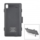 """4200mAh"" External Power Battery Charger w/ Protective Case for Sony L39h Xperia Z1 - Black"