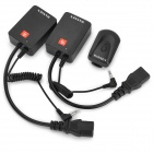 Wansen AC-04 433MHz Wireless Remote Speedlite Trigger for Nikon / Canon + More - Black (110~220V)
