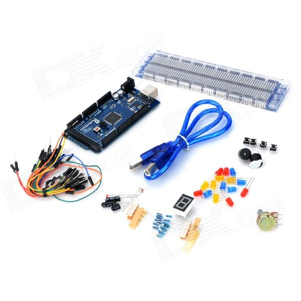 Robatale Basic kit -02 FR4 + Plastic Development Board Tool Set for Arduino - Multicolored