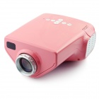 LETO E03 Mini Home Portable LED HDMI Projector - Pink
