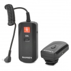 Wansen DC-04 4 Channels Wireless Radio Flash Trigger Set Transmitter for Strobe - Black
