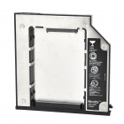 "Nimitz SATA 3 2.5"" Hard Drive Holder Frame for Dell E6400 / E6410 + More - Silver Grey + Black"