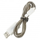Universal Micro USB Data / Charging Cable - Negro + blanco (100cm)