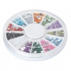 Acrílico Artificial Kit Diamond Nail 12-Color Art - Multicolor