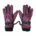 CN CN-1 30~90V Motorcycle Electrombile Heated Warm Gloves - Red + Black (Pair)