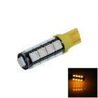 T10 / 194 / 585 / W5W 2W 180lm 17 x SMD 5050 LED Yellow Car Clearance lamp / Side Light - (12V)