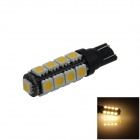 T10 / 194 / 280 / W5W 2W 180lm 17 x SMD 5050 LED Warm White Car Clearance lamp / Side Light - (12V)