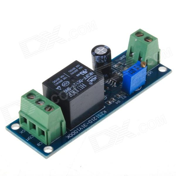NE555 DIY Monostable Switch Time Delay Circuit Module w/ Vehicle Electrical Delay - Blue (12V) dc 12v led display digital delay timer control switch module plc automation new