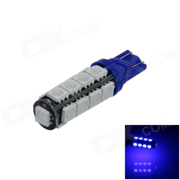 T10 / 194 / 2652 / W5W 2W 180lm 17 x SMD 5050 LED Blue Car Clearance lamp / Side Light - (12V)