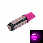T10 / 194 / 2652 / W5W 2W 180lm 17 x SMD 5050 LED Purple Car Clearance lamp / Side Light - (12V)