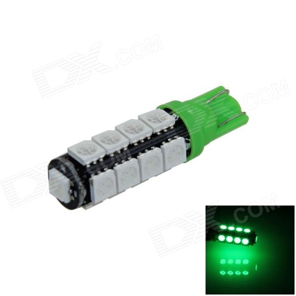 T10 / 194 / 2521 / W5W 2W 180lm 17 x SMD 5050 LED Green Car Clearance lamp / Side Light - (12V) Hampton товары б.у