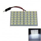 T10 / BA9S / Festoon 8W 400lm 48 x SMD 5050 LED White Light Car Reading Light / Panel Light - (12V)