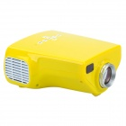 LETO E03 Mini HDMI Home Portable LED Proyector - Amarillo