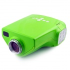 LETO E03 Mini Home Portable LED HDMI Projector - Green