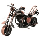 M36A Retro Iron Motorcycle Display Model Toy - Bronze