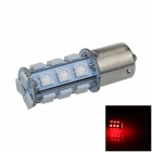 1141 / BA15S / 1156 4W 200lm 18 x SMD 5050 LED Red Car Signal Light / Steering Lamp - (12V)