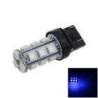 7443 / 7440 / T20 6W 200lm 18 x SMD 5050 LED Blue Car Steering / Brake / Backup / Tail Light - (12V)