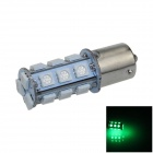 1141 / BA15S / 1156 4W 200lm 18 x SMD 5050 LED Green Car Signal Light / Steering Lamp - (12V)