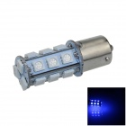 1141 / BA15S / 1156 4W 200lm 18 x SMD 5050 LED Blue Car Signal Light / Steering Lamp - (12V)
