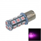 1141 / BA15S / 1156 4W 200lm 18 x SMD 5050 LED Purple Car Signal Light / Steering Lamp - (12V)