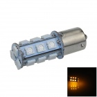 1141 / BA15S / 1156 4W 200lm 18 x SMD 5050 LED Yellow Car Signal Light / Steering Lamp - (12V)