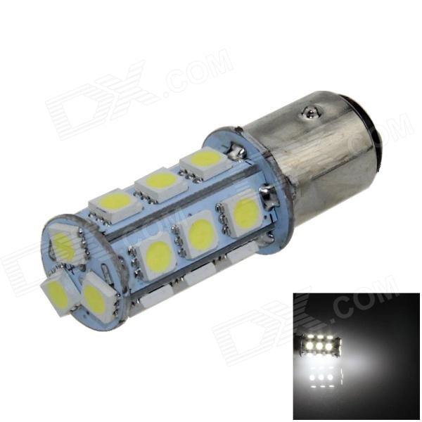 1157 / BAY15D 3W 280lm 18 x SMD 1210 LED White Car Backup Light / Brake Lamp / Signal light - (12V)