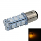 1157 / BAY15D 3W 280lm 18 x SMD 1210 LED Yellow Car Backup Light / Brake Lamp / Signal light - (12V)