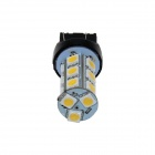 7443/7440/T20 6W 600lm 18-SMD 5050 LED Warm White Car Steering / Brake / Backup / Tail Light - (12V)