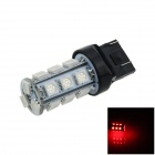 7443 / 7440 / T20 6W 200lm 18 x SMD 5050 LED Red Car Steering / Brake / Backup / Tail Light - (12V)