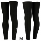 SAHOO 45618 Bike Cycling Leg Warmer Sleeve - Black (Size M / Pair)