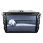 "LSQSTAR 8 ""Lecteur DVD w / GPS, TV, RDS, Bluetooth, OPS, IPAS, CFC, bus CAN, OBD, Dual Zone pour VW SKODA"
