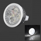 MeFire MR16 4W 240lm 7000K 4-LED White Light Spotlight (DC 12~24V)
