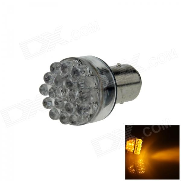 1157 / BAY15D 0.9W 90lm 24-LED Yellow Car Steering Light / Backup Light / Brake Lamp - (12V)