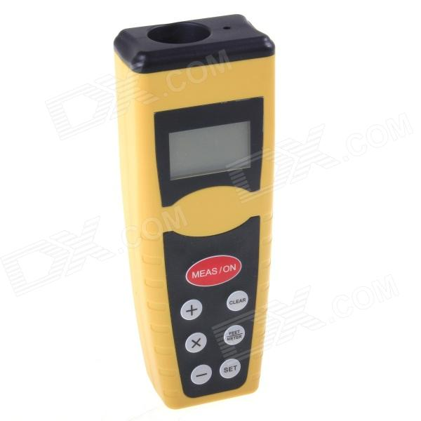 CPTCAM CP3000 Ultrasonic Distance Measurer - Golden + Black (1 x 9V) ssk scrm 060 multi in one usb 2 0 card reader for sd ms micro sd tf white