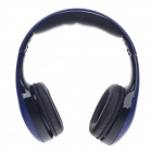 Raoopt RP-1818 Multifunctional Stereo Headphones w/ Microphone for Iphone / Computer - Black + Blue