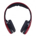 Raoopt RP-1818 Multifunctional Stereo Headphones w/ Microphone for Iphone / Computer - Black + Red