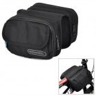 ROSWHEEL Convenient Durable 600D Dacron Top Tube Bag for Bicycle - Black