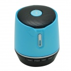 Tragbare Mini-Wireless-Bluetooth-Stereo-Lautsprecher w / TF / FM / Mikrofon - Blau