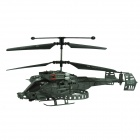 Brilink BH02 Rechargeable 4-CH Indoor R/C Helicopter w/ Gyro - Blackish Green